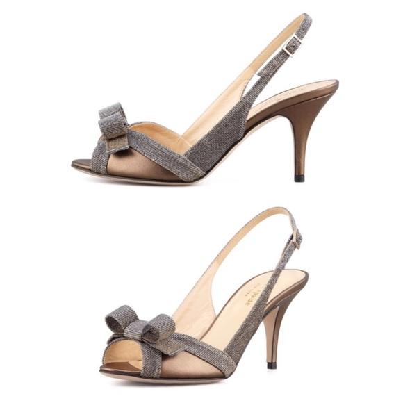 c9b587d0ae89 Kate spade slingback heels BNWOT